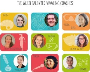 The Multi talentes VivaLing Coaches